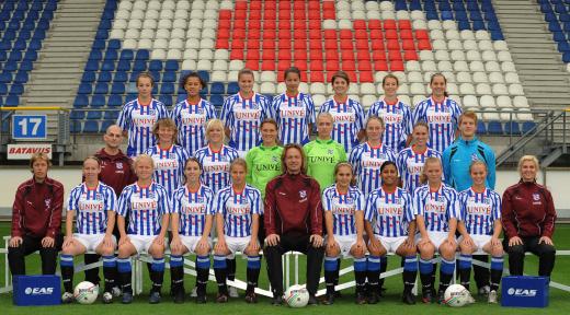 sc Heerenveen dames team 2009-2010